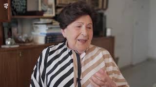 """דבורה ברגר בעדותה על הגירוש לגטו מתוך הסרט """"המשכיות בתוך השבר – סיפורה של דבורה ברגר"""""""