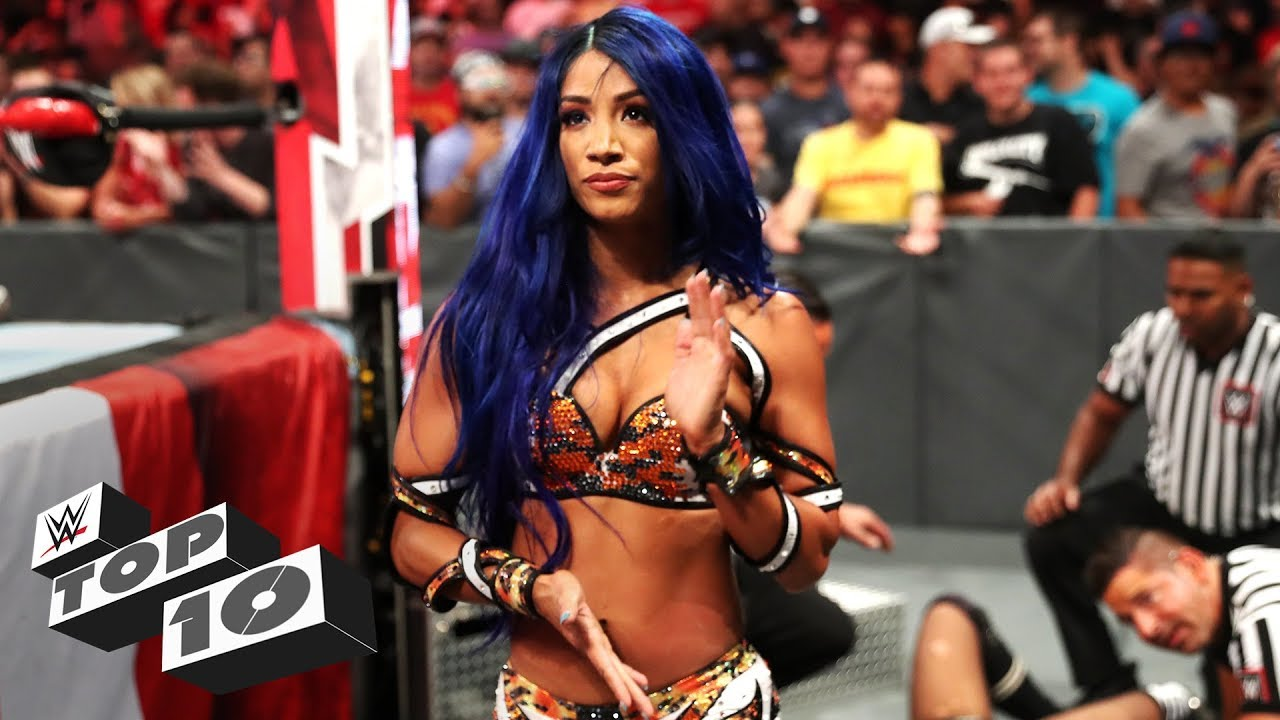 Sasha Banks' most savage moments: WWE Top 10, Aug. 19, 2019