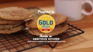 How To Make Brown Butter Snickerdoodle Cookies | Gold Medal Flour