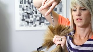 How to cut Soft Layers in Long Hair // Women