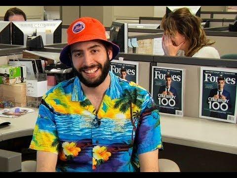 8ded2607a077d Steve Forbes vs. Mets Bucket Hat Guy - YouTube
