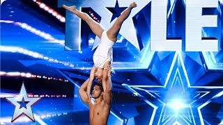 Dust in the Wind stun with beautiful acrobatics | Auditions | BGT 2019