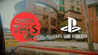 Taipei Game Show 2018 - Sony Playstation Stage