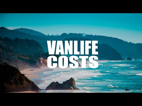 Total Van Living Costs  -  How To Live Out Of Your Van / Full Time Setup