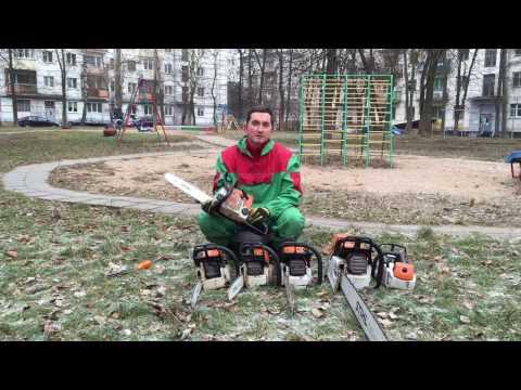 Бензопила Штиль МС 180  Обзор   Какую бензопилу купить  Выпуск 2