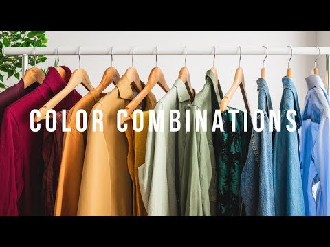 5 Go-To Color Combinations | Men's Outfit Inspiration