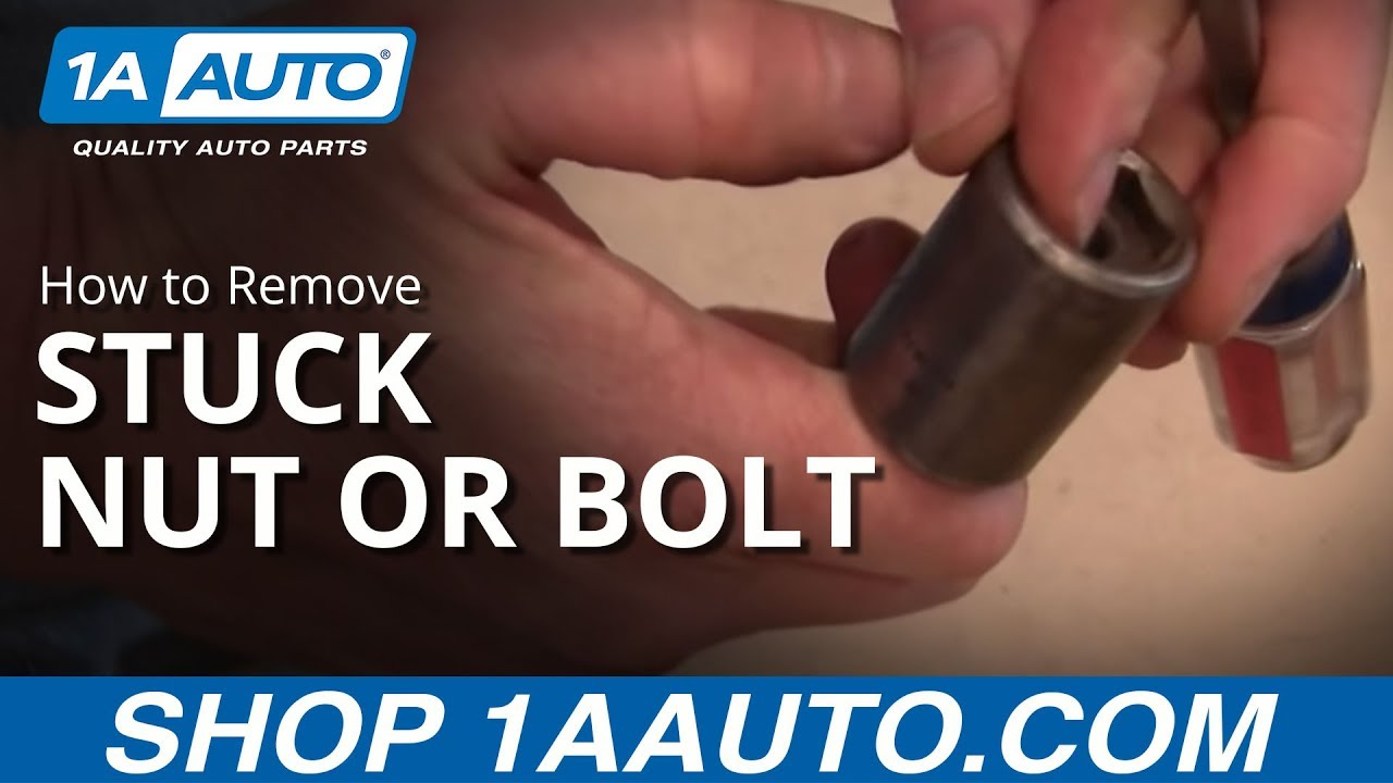 How To Remove A Nut Or Bolt Stuck Inside Socket Wrench You