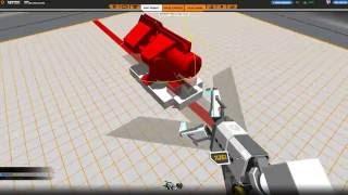 Robocraft игра (Все в щепки) (оружие дорбовик и прото искатель) в робошопе есть