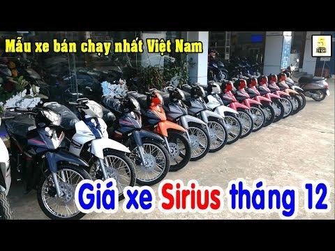 Giá Xe YAMAHA SIRIUS 2019 Tháng 12 ▶️ Sirius Mẫu Xe Bán Chạy Nhất Việt Nam 🔴 TOP 5 ĐAM MÊ
