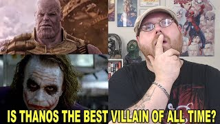"Is Thanos The Best ""Comic Book"" Movie Villain of All Time?"