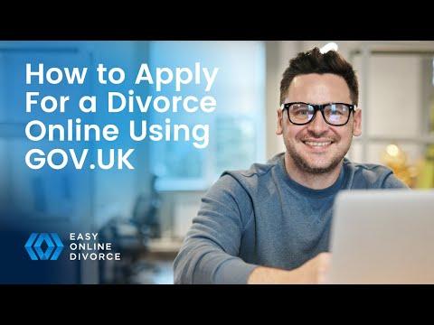 Get A Divorce: How To Apply For A Divorce Online Using GOV.UK