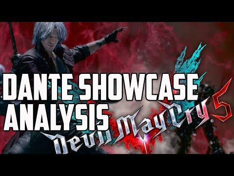 Devil May Cry 5 Dante Showcase Gameplay Analysis