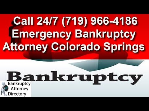 Low Cost Bankruptcy Help Colorado Springs|(719) 966-4186|Attorney|Chapter 7|Chapter 13|Affordable|CO