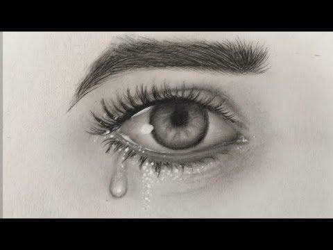 Como Dibujar Ojos Y Lágrimas Youtube