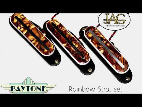 JAG BAYTONE RAINBOW STRAT PICKUPS DEMO
