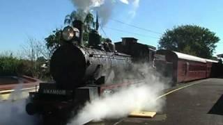 The Valley Rattler Steam Train Gympie Queensland