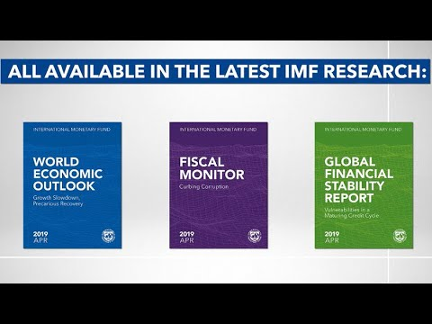 Latest IMF Research, April 2019