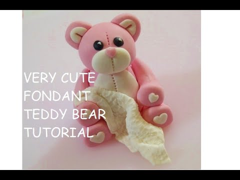 How To Make A Teddy Bear Cake Topper