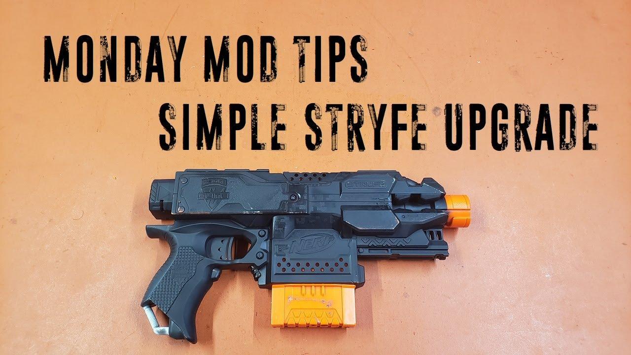 Monday Mod Tips - Simple Stryfe Upgrade
