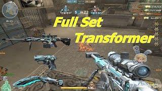 Sức mạnh khi Full Set 3Z Transformer-Iron Beast - Tiền Zombie v4
