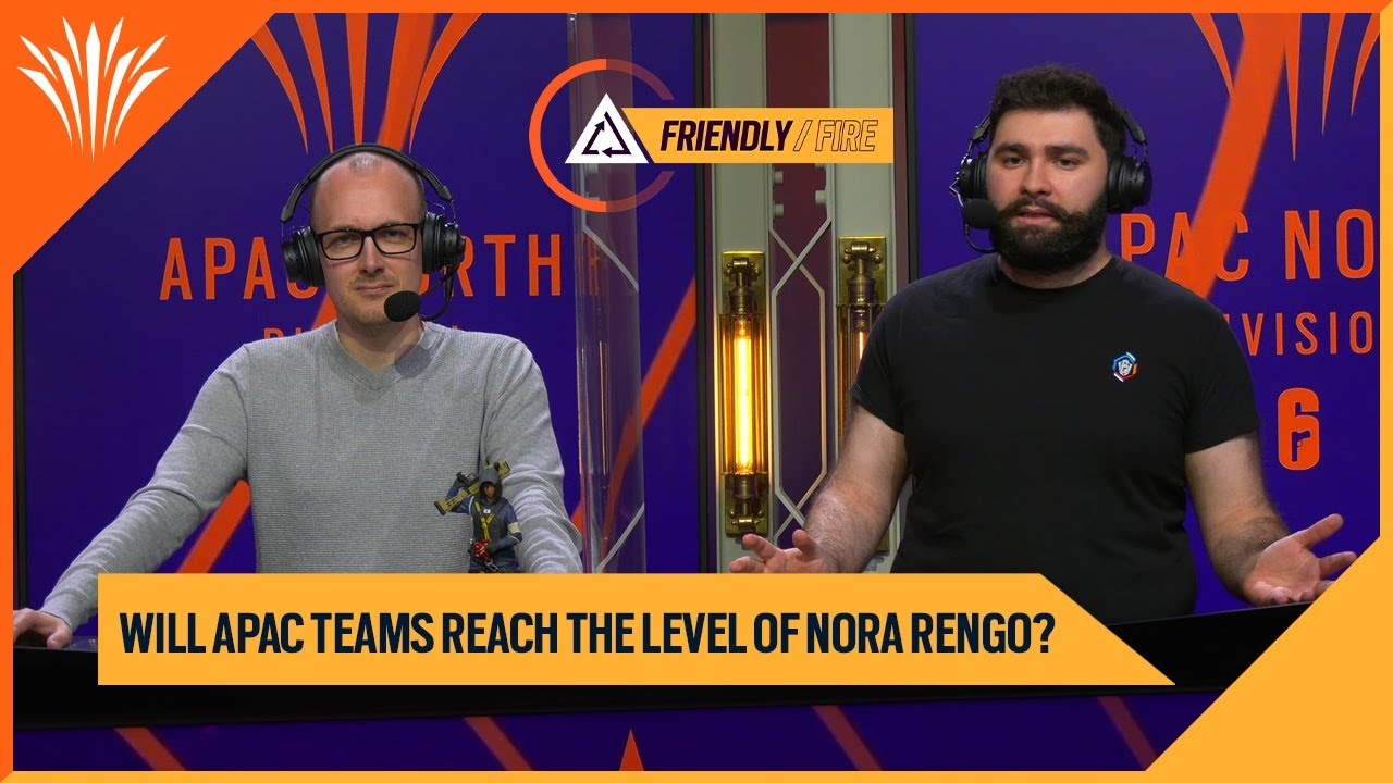 Ace vs Milosh   Will APAC teams reach the level of Nora Rengo?   Friendly Fire APACL