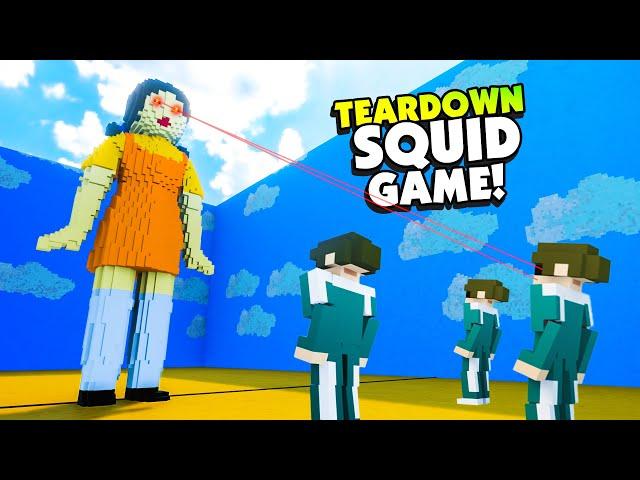 Fully Destroying SQUID GAME Doll In Teardown! - Teardown Mods