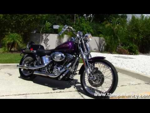 Used 2000 Harley Davidson FXSTS Softail Springer Motorcycle for Sale