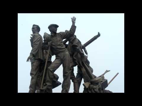 Monuments in Komsomolsk Na Amur