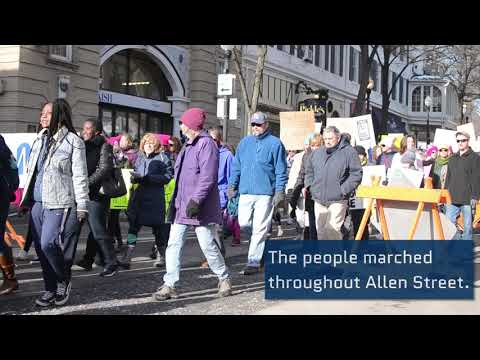 Centre County Women's March takes the streets of State College