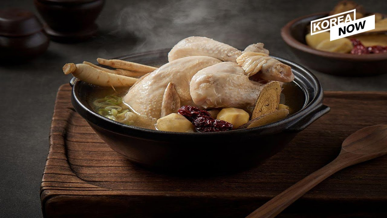 What we eat on the hottest summer day l Healthy Summer Meals l Samgyetang l Chicken with ginseng