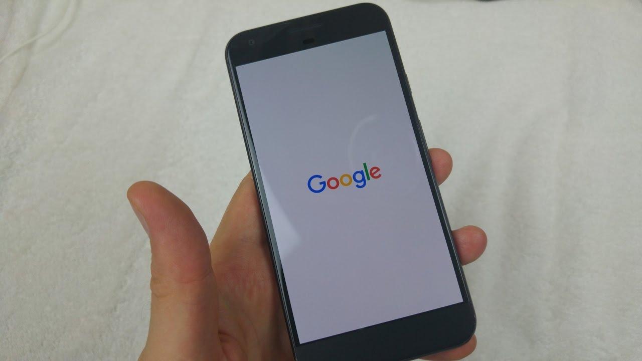 Google Pixel XL How to soft reset or restart your phone if crashing  freezing or not responding