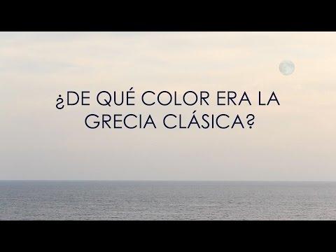¿De qué color era la Grecia Clásica?