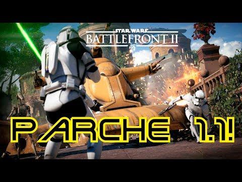 Notas parche 1.1! Nueva nave, mapa estallido y balanceos! Star Wars Battlefront 2