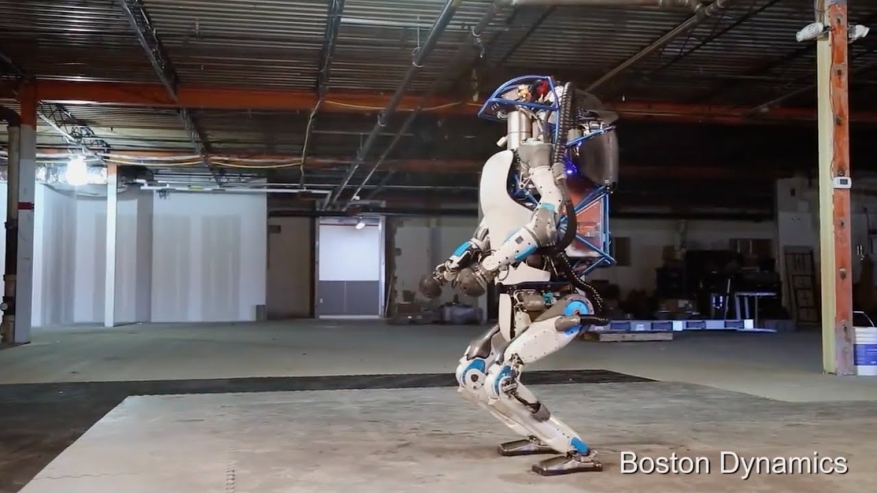 Boston Dynamic introduced the Atlas robot 02/24/2016 78