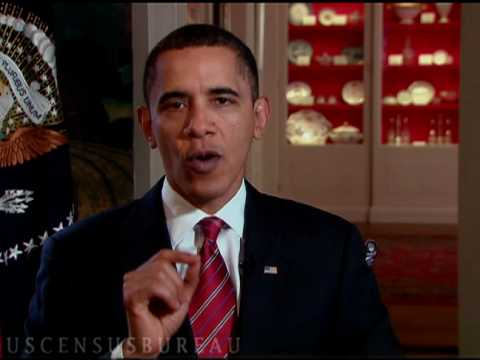 A 2010 Census Message from President Obama (:20)