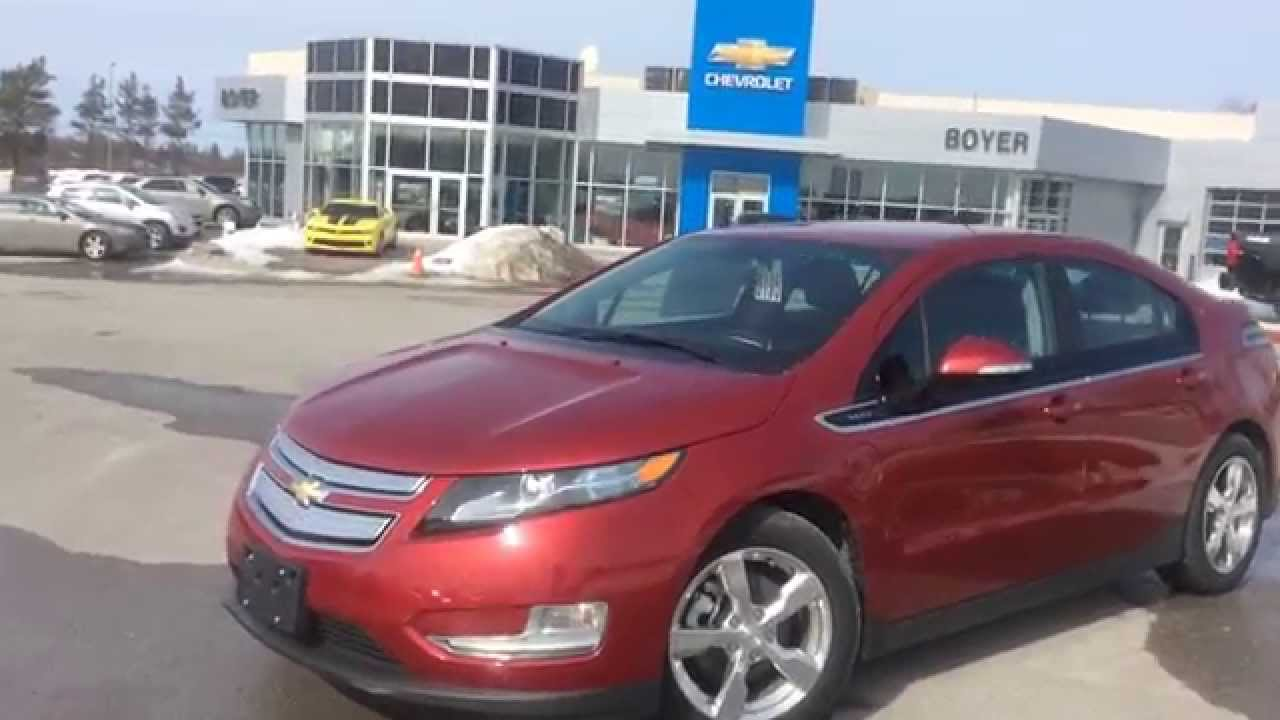 2015 Chevrolet Volt For Sale Review Electric Hybrid Chevy Boyer Lindsay