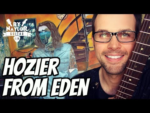 From Eden Hozier Guitar Lesson - Guitar Song Tutorial with on-screen Chords and TAB