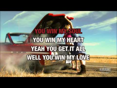 You Win My Love in the style of Shania Twain, karaoke video version with lyrics