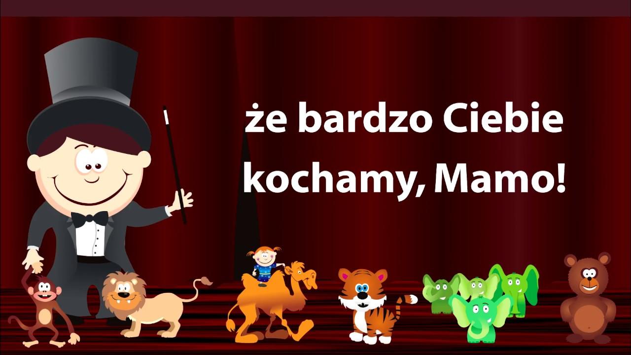 Kochana Mamo - piosenka dla dzieci, na dzień mamy - Babadu Tv ...