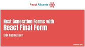 Better React Forms with Formik - YouTube