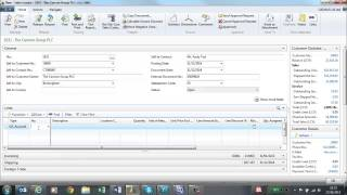 Sales Invoices in Microsoft Dynamics NAV 2013