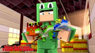 BIGGEST DRAGON YET!! HOW TO TRAIN YOUR DRAGON #51 w/ Little Lizard
