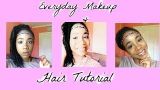 Everyday Makeup and Hair Tutorial | beautybytsi