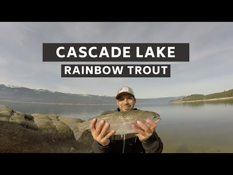 CASCADE LAKE Rainbow Trout Fishing