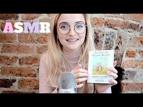 ASMR reading you stories Beatrix Potter