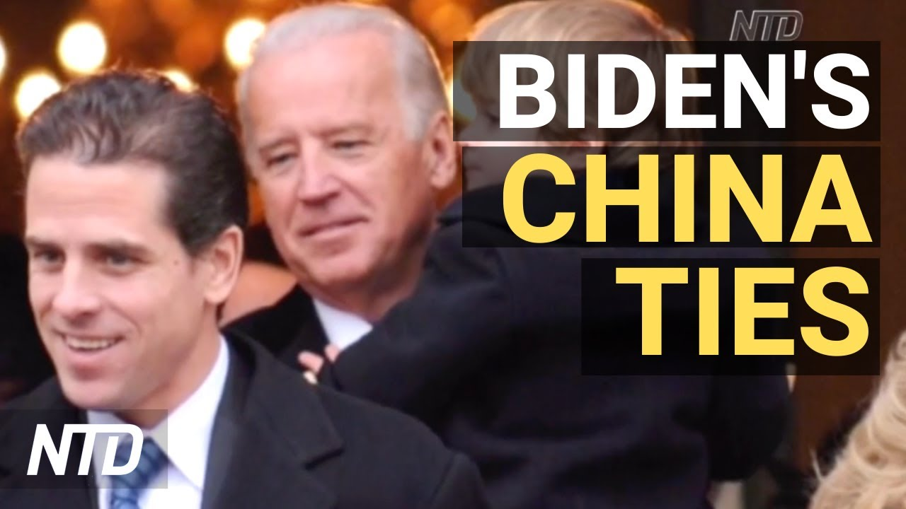 Hunter Biden's 'questionable' transactions with China uncovered; Church  sues DC mayor | NTD - YouTube