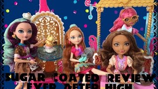 Sugar Coated Ginger Breadhouse Playset Review,madeline Hatter,cedar Wood,holly-ever After High