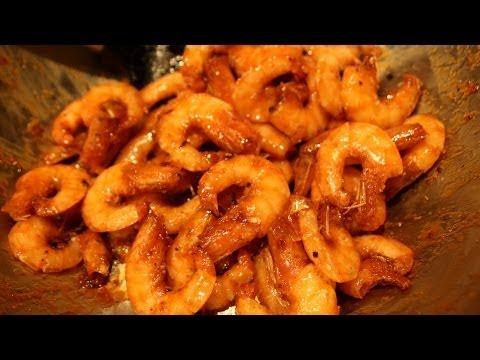 Caramelized Shrimps and Pork (TOM THIT RIM)