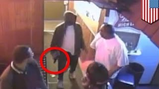 Bouncer disarms gunman video: Wasson receives medal