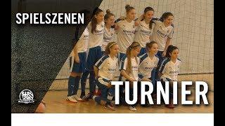 1. FFC Frankfurt U15 – Borussia Mönchengladbach U15 (Spiel um Platz 3, Wiesbadener Hallenmasters)